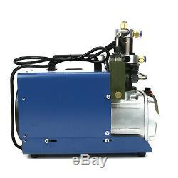 110V 30MPa 4500PSI Air Compressor Pump PCP Electric High Pressure System Rifle/