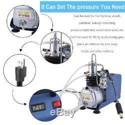 110V 30MPa PCP Electric Air Compressor Pump High Pressure System Rifle YONG HENG