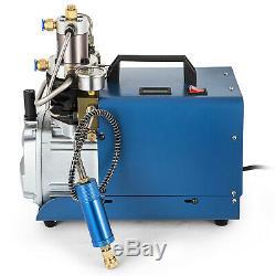 110V High Pressure Air Pump Electric PCP for Airgun Scuba Rifle 30MPA