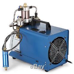 110V PCP 30MPa Electric Air Compressor Pump High Pressure System Rifl