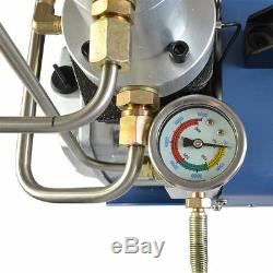 110V PCP 30MPa Electric Air Compressor Pump High Pressure System Rifle U