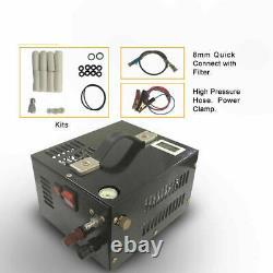 12V Portable Pcp Air Compressor + Transformer High Pressure Compressor Air Rifle
