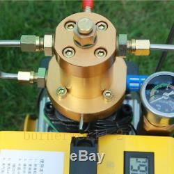220V 300BAR High Pressure Air Pump PCP Air Compressor for Airgun Scuba Rifle