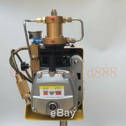 220V 30Mpa High Pressure Electric PCP Air Compressor for Airgun Scuba Rifle
