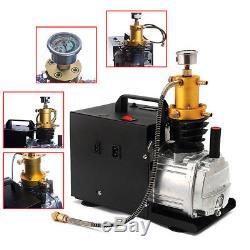 220V 4500PSI High Pressure Electric PCP Air Compressor Pump Air Gun Scuba Rifle