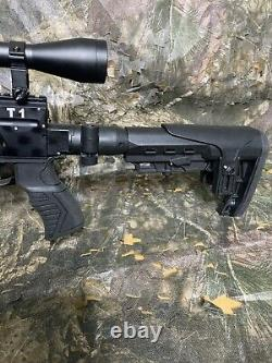 25 PCP Air Rifle T1 Cattleman Guns Pest Control 1 Year Warranty Check it Out