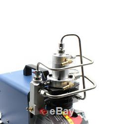 300BAR/4500PSI High Pressure Electric PCP Pump Air Compressor Airgun Scuba Rifle