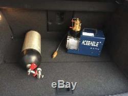 30MPA 4500PSI High Pressure Air Compressor for Airgun Scuba Rifle PCP Inflator