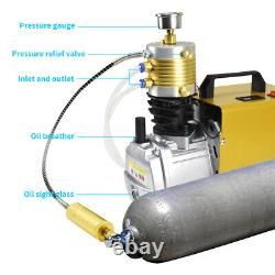 30MPA High Pressure Air Compressor Electric Air Gun Rifle PCP Pump 4500PSI 110V