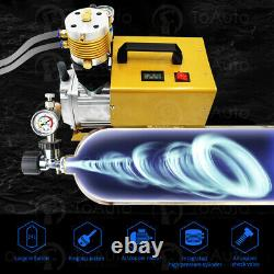 30MPa 4500PSI Air Compressor PCP Electric High Pressure System Rifle Paintball