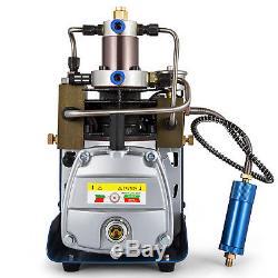 30MPa Electric Air Compressor Pump PCP System Rifle 300BAR 4500PSI High Pressure