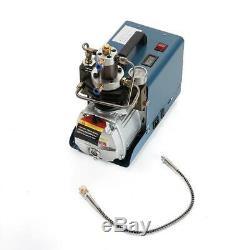 30MPa High Pressure Air Compressor Pump Electric PCP 4500PSI System Rifle 110V