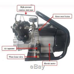 30mpa/300bar/4500psi High Pressure Air Compressor System for Rifle PCP Air Gun