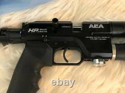 AEA Precision PCP rifle. 25 HP Carbine Semiauto
