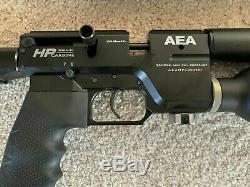 AEA Precision PCP rifle. 25 HP Semi Auto With Varmint Action Kit New Model Set