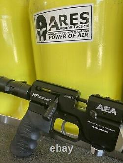 AEA Precision PCP rifle. 25 HP Standard With Regulator Light Trigger By Zachary