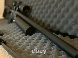 AEA Precision PCP rifle. 25 HP Varmint With Vortex Crossfire6-18X44 Scope