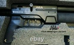 AEA Terminator. 357 cal. Semi-auto pcp air rifle. Condition is New