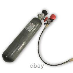 Acecare Hunting 2L CE 300Bar Air Rifle PCP Carbon Fiber Tank Charging Bottle Kit