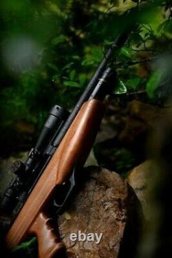 Aea big bore bullpup. 35cal / 9mm challenger bp air rifle pcp airgun pellet