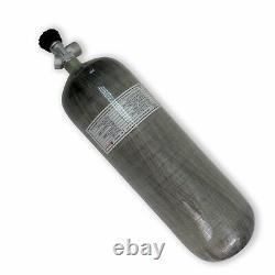 Air Rifle 9L CE 4500psi Scuba Tank Carbon Fiber Cylinder PCP Bottle with Valve