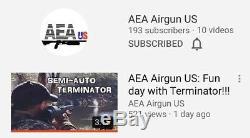 Air gun rifle pcp AEA Terminator 357 Semiautomatic