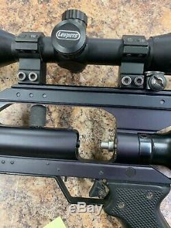 AirForce Airguns Condor Air Rifle. 22 Caliber Case Air Tank Bipod PCP R0401