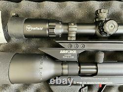 AirForce Condor PCP Air Rifle Spin-Loc R0401 Scope + Air Yoke + Case