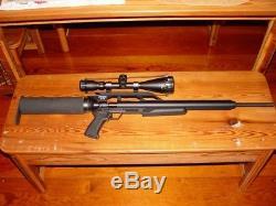 AirForce Condor PCP Rifle, 22 Cal Air Gun, Pellet Gun With 4-16X50 Scope