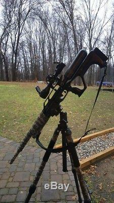 Airforce Condor PCP Airgun Air Rifle Custom. 257 Scope MadDog Stock Hammer Grip