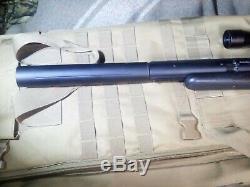 Airforce Talon p. 25 pellet PCP air rifle with talon tunes suppressor and pump