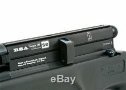 BSA Scorpion SE 1200.22 Cal 1000 fps 10 Round PCP Air Rifle (Refurb)