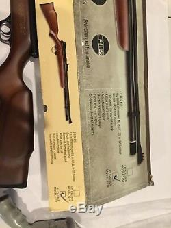 Beeman 1322 Chief Bolt Action PCP Air Rifle Hardwood Stock Open Sights in. 22