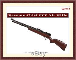 Beeman Chief Hardwood. 177 Caliber PCP Air Rifle, Brand New. German Engineered
