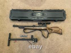 Beeman Commander PCP air rifle + 3 Mags + Pump + Case! -BUNDLE- (Read Desc.)