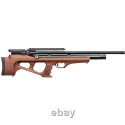 Benjamin Akela PCP Air Rifle 1000 FPS. 22 Pellet, Walnut BPA22W