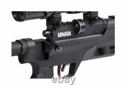 Benjamin Armada PCP. 25 Cal Air Rifle Combo with 2-7x32mm Scope & Bipod BTAP25SX