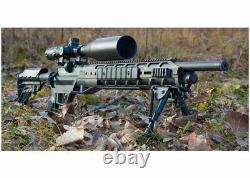 Benjamin Armada PCP Bolt Action Air Rifle WithScope & Bipod. 25 Cal