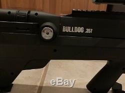 Benjamin Bulldog. 357 PCP Air Rifle Centerpoint scope 4-16x56 Benjamin Air Tank