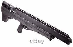 Benjamin Bulldog. 357 PCP Big Game Hunting Air Rifle, 800 fps, Black BPBD3S