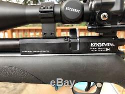 Benjamin Fortitude PCP Air Rifle. 22 Cal. Regulated