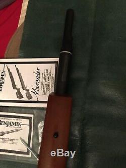 Benjamin Marauder 22 Cal PCP Repeater & Handpump