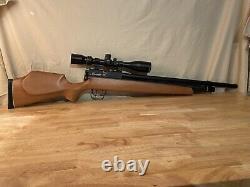 Benjamin Marauder PCP. 25 CAL. Air Rifle With Pursuit X1 6-24X44 Scope