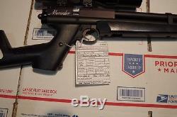 Benjamin Marauder PCP Air Pistol With 3x9 scope