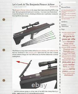 Benjamin Pioneer Airbow Crosman Air Rifle Airgun Air Gun Pcp Bow Air Bow Hunting