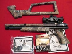 Benjimin Marauder Woodswalker Pcp Air Pistol
