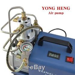 Blue Air Compressor Pump PCP High Pressure Rifle 220V/110V 30MPa YONG HENG BRAND