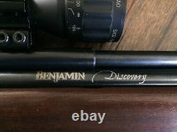 CROSMAN BENJAMIN DISCOVERY PRE-CHARGED PNEUMATIC PCP Dual FUEL. 22 CAL AIR RIFLE