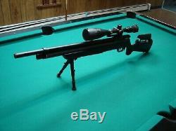 Crosman Benjamin Marauder. 25 Caliber PCP Air Rifle, Syn Stock, Pellet gun