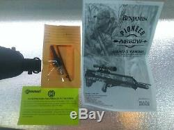 Crosman Benjamin Pioneer PCP Airbow (BABPN) with arrows and accessories